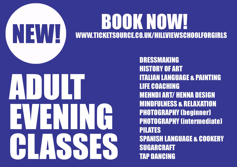 Adult Evening Classes 90